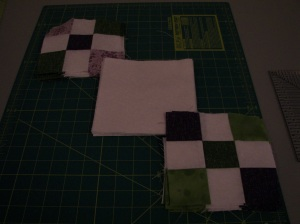 Squares take shape