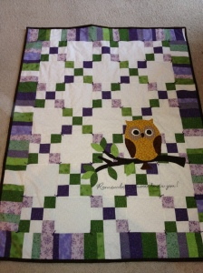 Completed quilt!