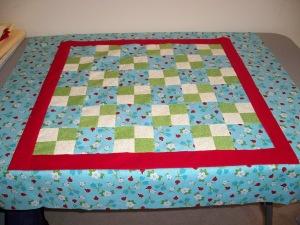 Niece #5's quilt